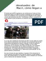 2019-01-01 Jubilados Devaluados de Menem a Macri Cómo Llegan a 2019