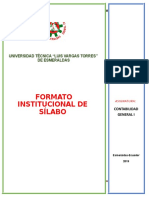 Sílabo de Contabilidad Basica Utelvt 2018
