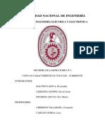 Curvas Características Voltaje Corriente Informe Terminado