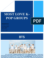 Most Love K-pop Groups Group 3