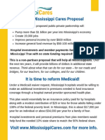 MIssissippi Cares Fact Sheet