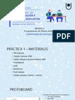 Componentes Iniciales - Practico 1
