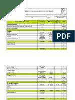 Informe Financiero Del Proyecto de Investigación Corr