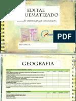Edital Humanas e Linguagens