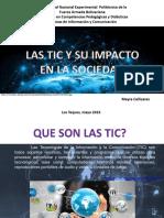 Canizares; Las Tic y Su Impacto en La Sociedad
