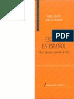 GARCIA NEGRONI MARIA MARTA - Escribir en Español Claves Para Una Correccion de Estilo