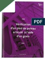 Vérification d'un pied de poteau articulé à l'aide d'un grain.pdf