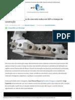 Novo Sistema de Blocos de Concreto Reduz Em 50% o Tempo de Construção _ ArchDaily Brasil