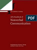 (Apa Handbooks in Psychology) David Ricky Matsumoto, Hyi Sung Hwang, Mark G Frank-APA Handbook of Nonverbal Communication-American Psychological Association (2015).pdf