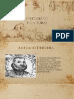 Linea Del Tiempo de Historia de Honduras