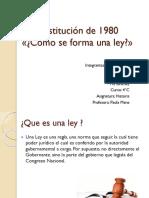 La Constitución de 1980 DISERTACION