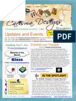 Carisma Designs Newsletter-October 2010