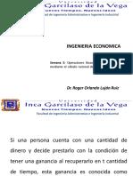 5- Curso Ingenieria Economica - Semana 5 - Interés Compuesto