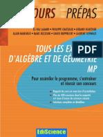 Tous Les Exercices d Algebre Et de Geometrie MP[1]