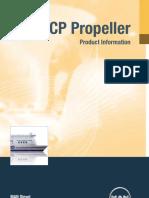 MAN Diesel. CP Propeller. Product Information