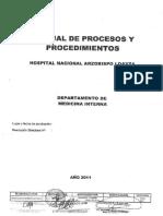 procesos y procedmientos