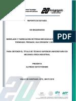 REPORTE DE ESTADÍA
