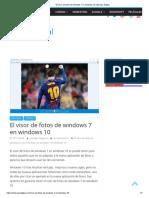 El Visor de Fotos de Windows 7 en Windows 10 _ Escape Digital
