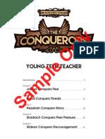 Lesson 1 Vbs Conqueror
