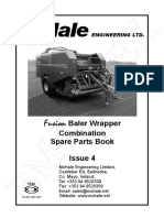 McHale Fusion Spare Parts Book
