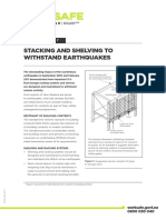 Stacking and Shelving to Withstand Earthquakes