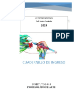 Cuadernillo ingreso IPA 2019 Febrero San Rafael