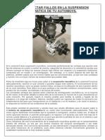 Como Detectar Fallos en La Suspension Neumatica de Tu Automovil