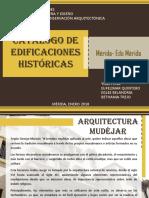 Catalogo de Edificaciones Historicas de la Ciudad de Mérida Venezuela