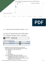 30 Soal Produktif Otomotif TSM Kelas XI Lengkap Dengan Kunci Jawaban - ADMINISTRASI NGAJAR