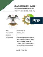 Universidad Andina Del Cusco Topografia 1