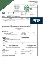 Purchase of Supplies - DBM
