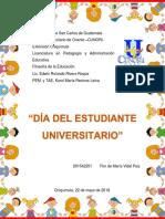 Reflexión Día Estudiante Universitario