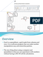 Basics of a Spreadsheet