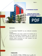 Universidad Telesup - Unid i - Tema 3