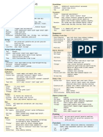 Clojure Cheat Sheet a4