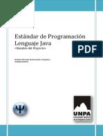 Estándar de Programación