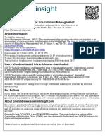 Accounting Education Journal Buat Behavioural