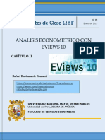 Apuntes de Clase Eviews 10 -Capitulo II