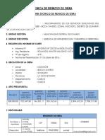 Ficha Tecnica i.e. Boca Yavero