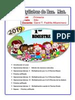 Temario I I Bimestre - 2019
