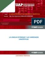 CLASE 4_A Lengua Estándar y Las Variedades