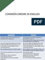 Comm Grammar