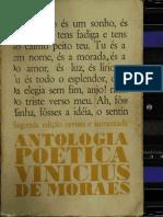 Antologia Poética - Vinícius De Morais