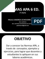 Normas Apa 6 Ed 2 Charla
