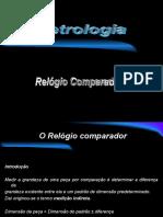 Aulas de Metrologia 06-Relógio comparador.ppt