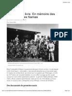 AFA NAMIBIE Hereros Et Des Namas