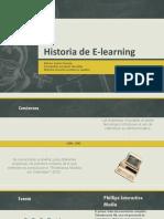Historia de E-learning