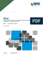 análisis económico del zinc