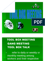 Tool Box Meeting