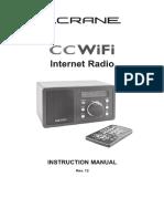 CC WiFi Internet Radio Instruction Manual